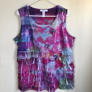 Style & Co. Sleeveless Top